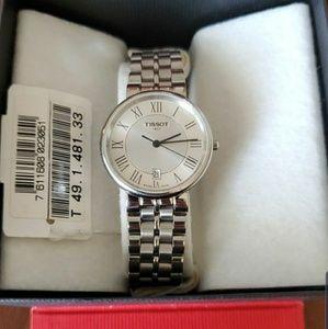 Tissot watch vintage stanless steel